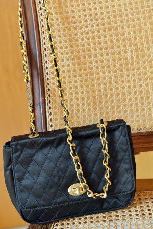 Vintage Mini sac noir-doré
