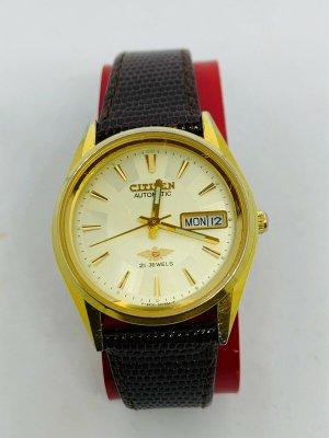 Vintage: Elegante Uhr Citizen Automatik Golden Eagle, Top!