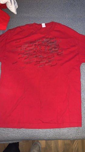 Element Camisa larga rojo-blanco