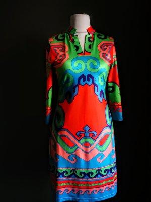 Vintage Emilio PUCCI signiert 1960's Seide Jersey Kleid neuwertig