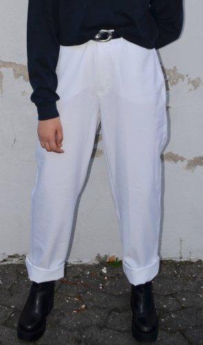 Vintage Esprit White Stoff Hose