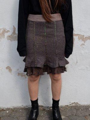 St-martins Falda de talle alto multicolor