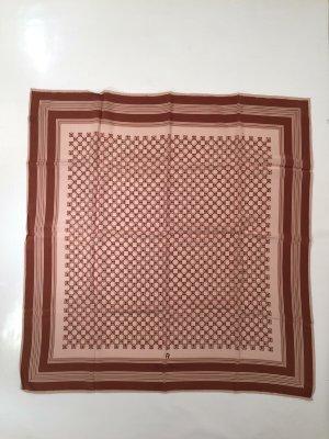 Aigner Silk Cloth brown-light brown silk