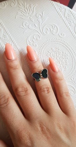 Vintage etsy american Ring butterfly