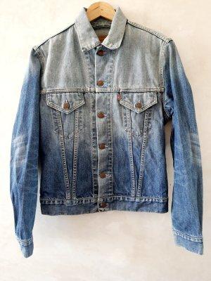 Levi's Jeansowa kurtka błękitny-stalowy niebieski