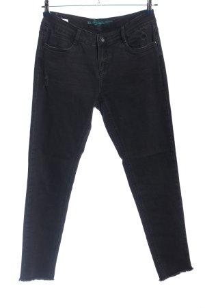 Vintage Five-Pocket-Hose blau Casual-Look