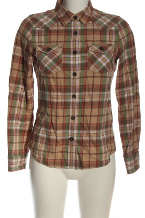 Vintage Flannel Shirt check pattern casual look