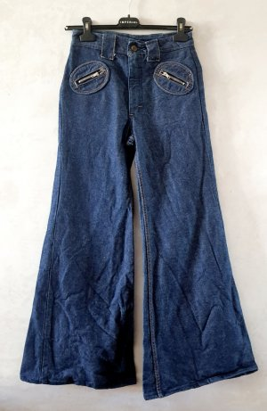 Denim Flares dark blue