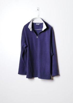 Vintage Fleecepullover in XL