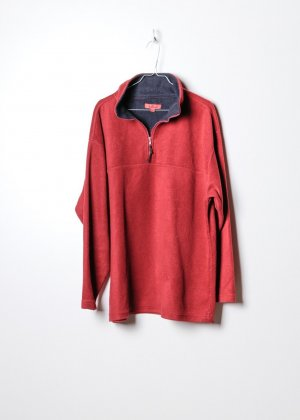 Tony Brown Pullover in pile rosso