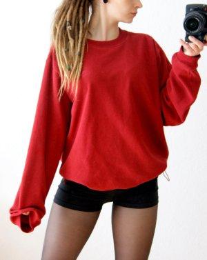 Vintage Fleecepullover von Adidas, 80er Croppullover y2k, blogger alternative