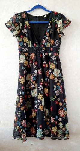 Vintage Floral Dress S