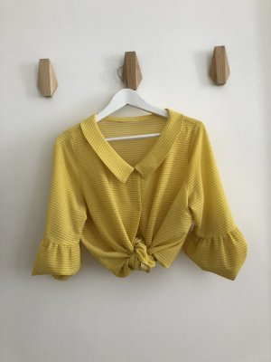 **Vintage** Gelbe Bluse