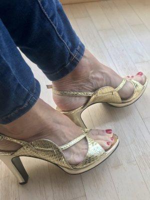Vintage-Glamourheels Gold