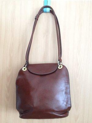 Goldpfeil Carry Bag cognac-coloured