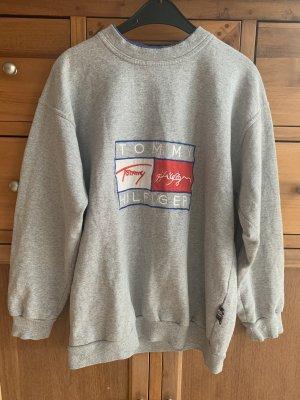 Vintage Grauer Tommy Hilfiger Sweater L