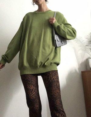 vintage grüner hugo boss pullover