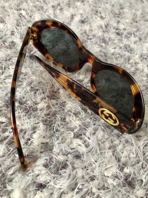 Gucci Okulary brązowy-czarno-brązowy