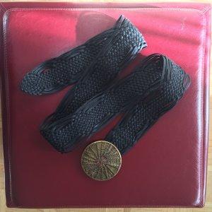 Vintage Cintura in tessuto nero