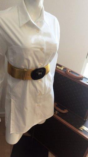 Moschino Cintura vita giallo-oro-nero Pelle