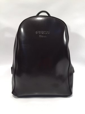 Guess Mini Backpack dark brown-silver-colored