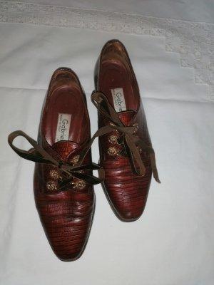 Vintage Halbschuhe Leder