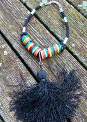 Vintage Halskette aus den 1970er Jahren