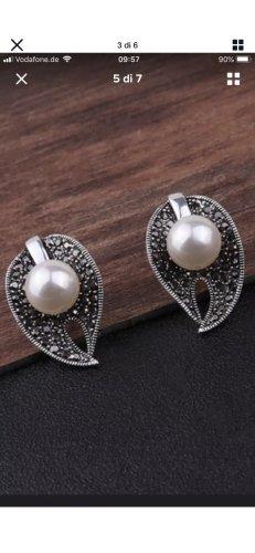 Vintage halskette Ohrringe Ring gr 18/57