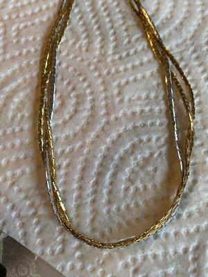 Vintage halskette vergoldet