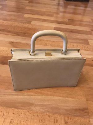 Vintage Handtasche beige