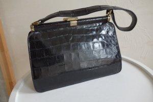 Vintage Handtasche Croco Leder