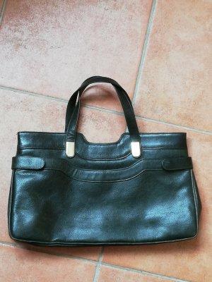 Vintage Handtasche dunkelgrün
