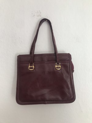 Vintage Handtasche Rot