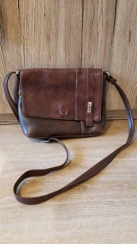 Vintage Handtasche Schultertasche (Kunst-)Leder