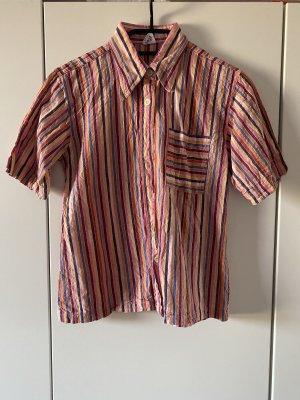 Vintage Camisa de manga corta multicolor
