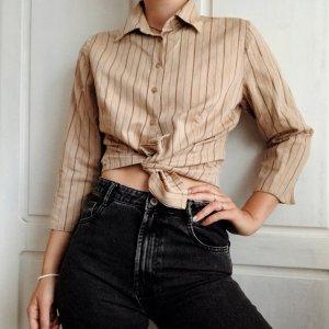 Vintage Camicia a maniche lunghe multicolore