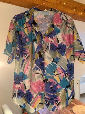 True Vintage Camicia a maniche corte multicolore