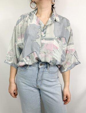 Vintage Hemd aus 100% Seide