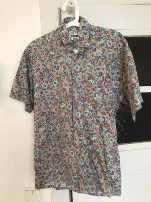 Vintage Hemd/ Bluse Blumenmotiv xs/ s/ m