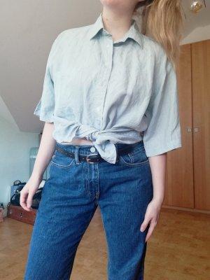 Vintage Hemd Bluse gemustert oversized