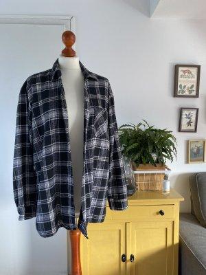 Vintage Chemise de bûcheron noir-blanc