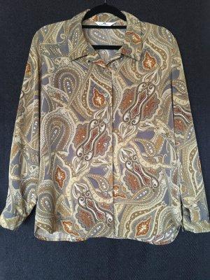 Vintage Hemd mit Paisley-Muster