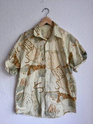 Artigiano Shirt Blouse sand brown-pale yellow