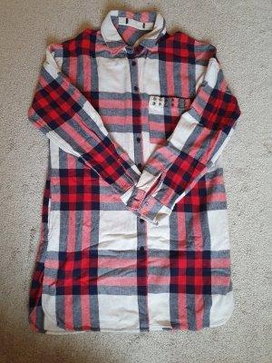 alternative vintage soft Koszulowa sukienka Wielokolorowy