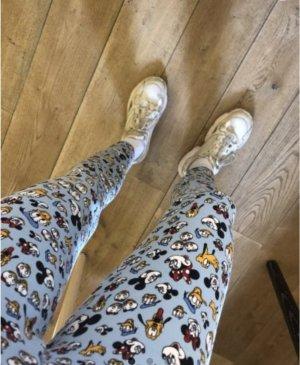 Vintage high-rise Leggings mit Disney-Motiven