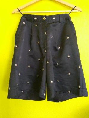 Vintage High Waist Shorts Bermuda