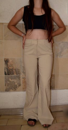 Vintage Highwaisted Pants mit weitem Bein