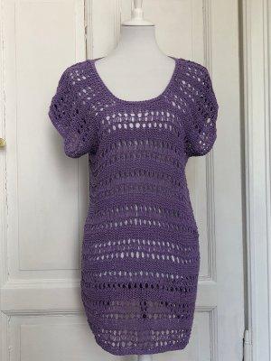 Vintage Vestido Hippie púrpura