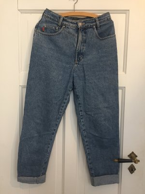 His 7/8 Length Trousers cornflower blue