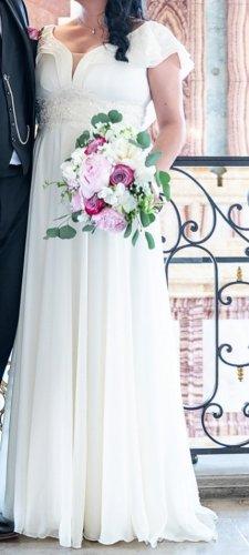 Wedding Dress natural white-cream